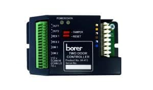 PoE Two Door Access Controller Borer Fingerprint Access Control