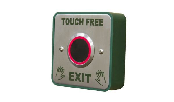 Touch Free Exit Release - Borer Fingerprint Access Control Systems