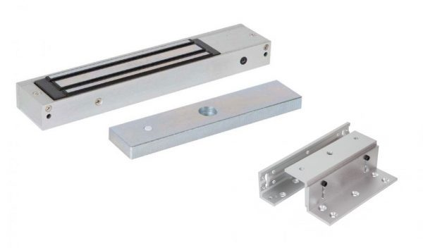 Electro Magnetic Lock Single Z&L Brackets - Borer Fingerprint Access Control Systems