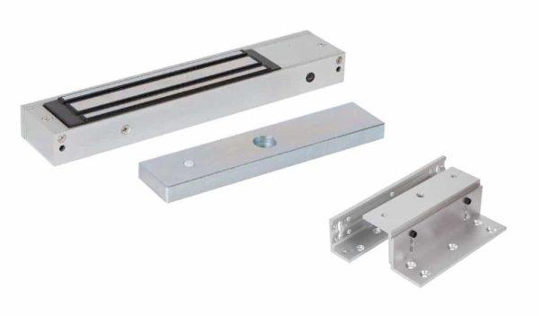 Electro Magnetic Lock Single Z&L Brackets - Borer Fingerprint Access Control Systems
