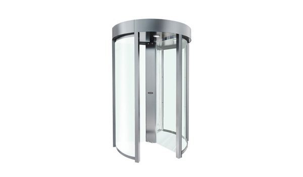 PoE Power Clear Full Height Turnstile Borer Fingerprint Access Control