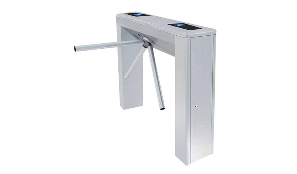 box tripod poe biometric turnstile power over ethernet