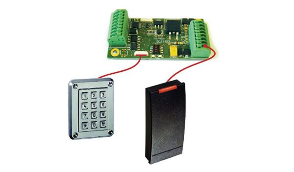 Borer Access Control Products - Network Interface for Wiegand Card Reader / LIM V5